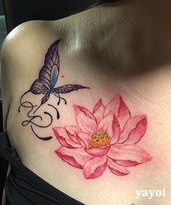 蝶、蓮、イニシャル